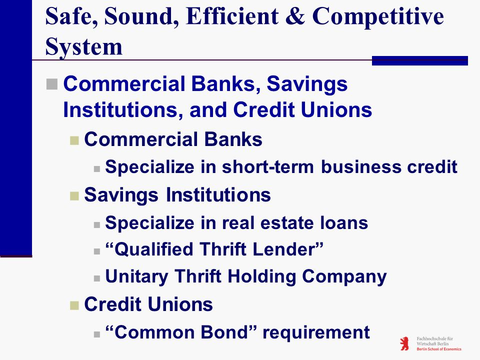 Safe, Sound, Efficient & Competitive System