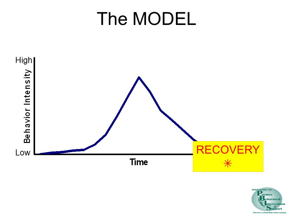 The MODEL High RECOVERY  Low