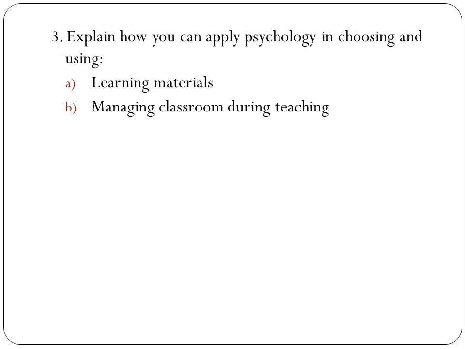 Managing classroom during teaching