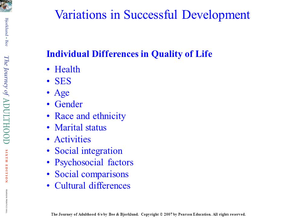 Variations in Successful Development