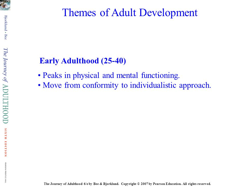 Themes of Adult Development