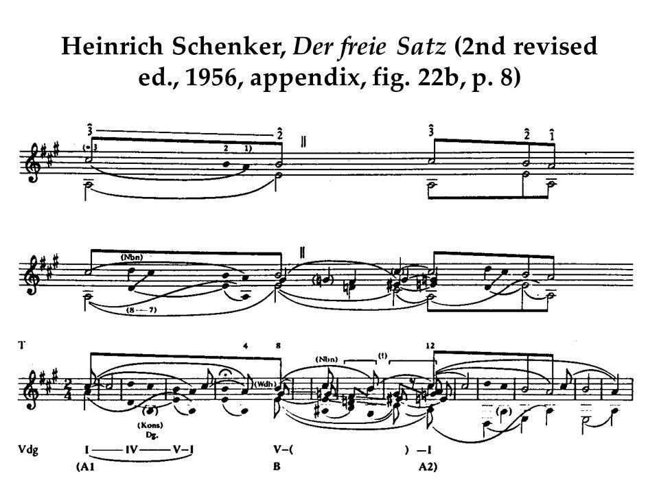 Heinrich Schenker, Der freie Satz (2nd revised ed