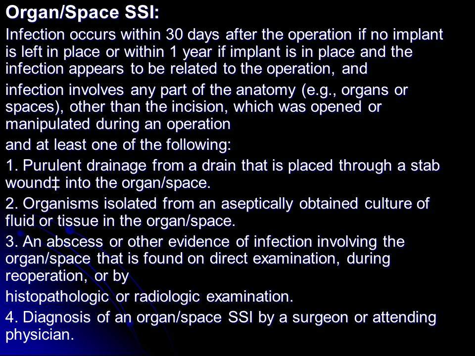 Organ/Space SSI: