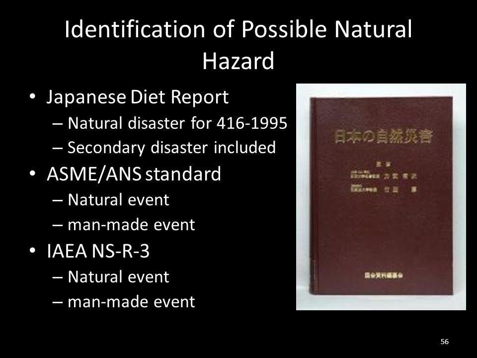 Identification of Possible Natural Hazard