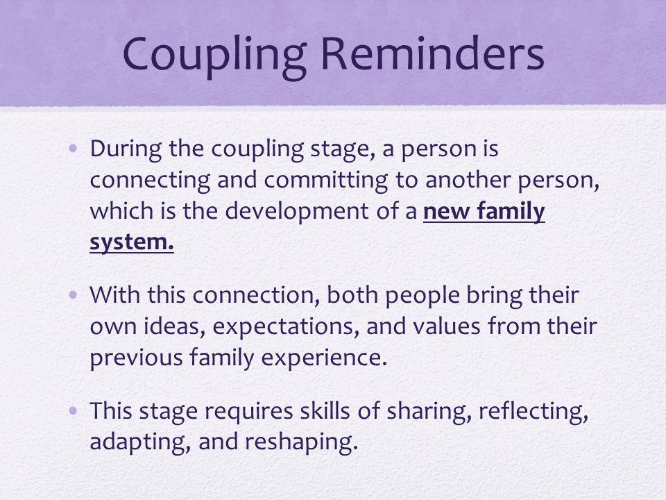 Coupling Reminders
