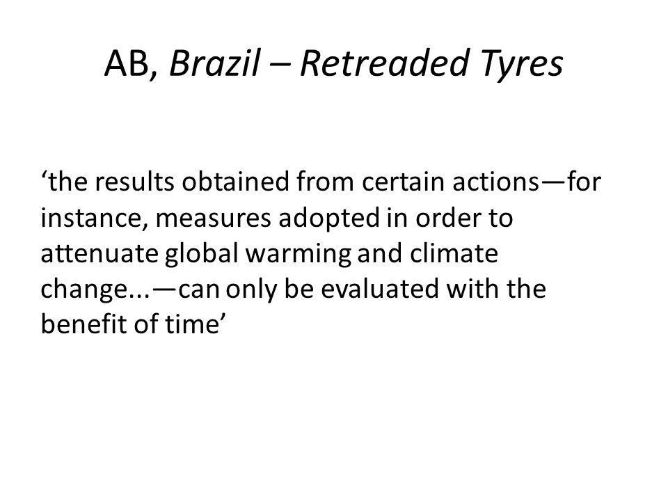 AB, Brazil – Retreaded Tyres