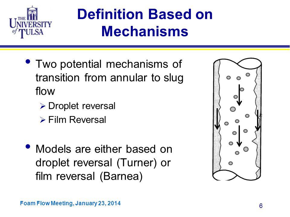 Definition Based on Mechanisms