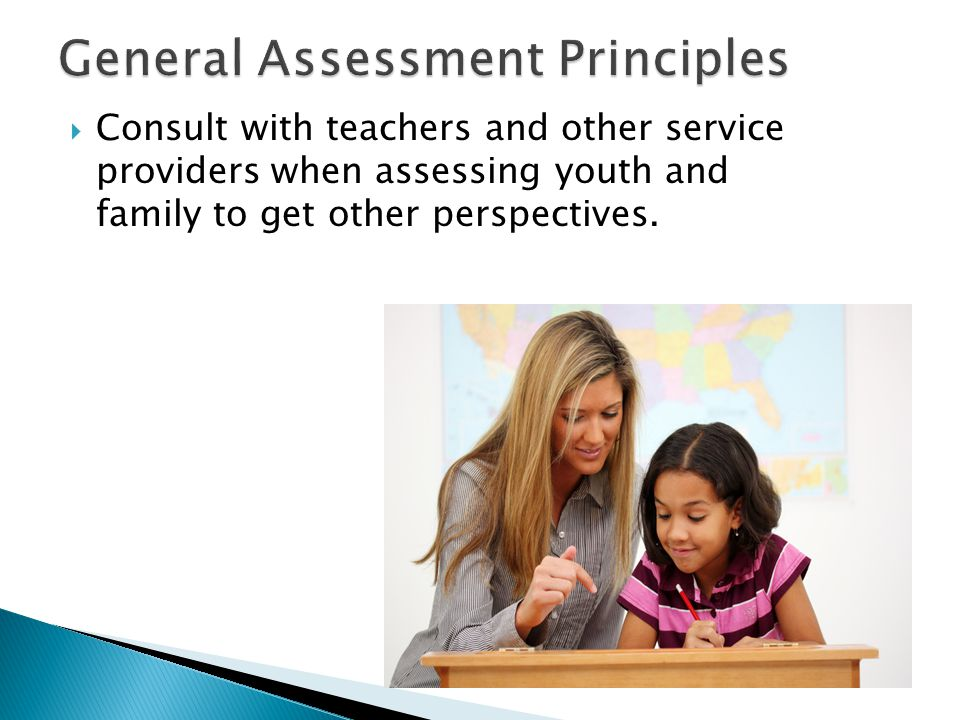 General Assessment Principles