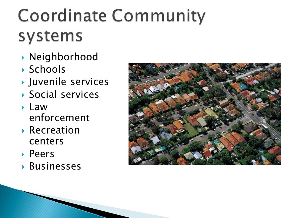 Coordinate Community systems