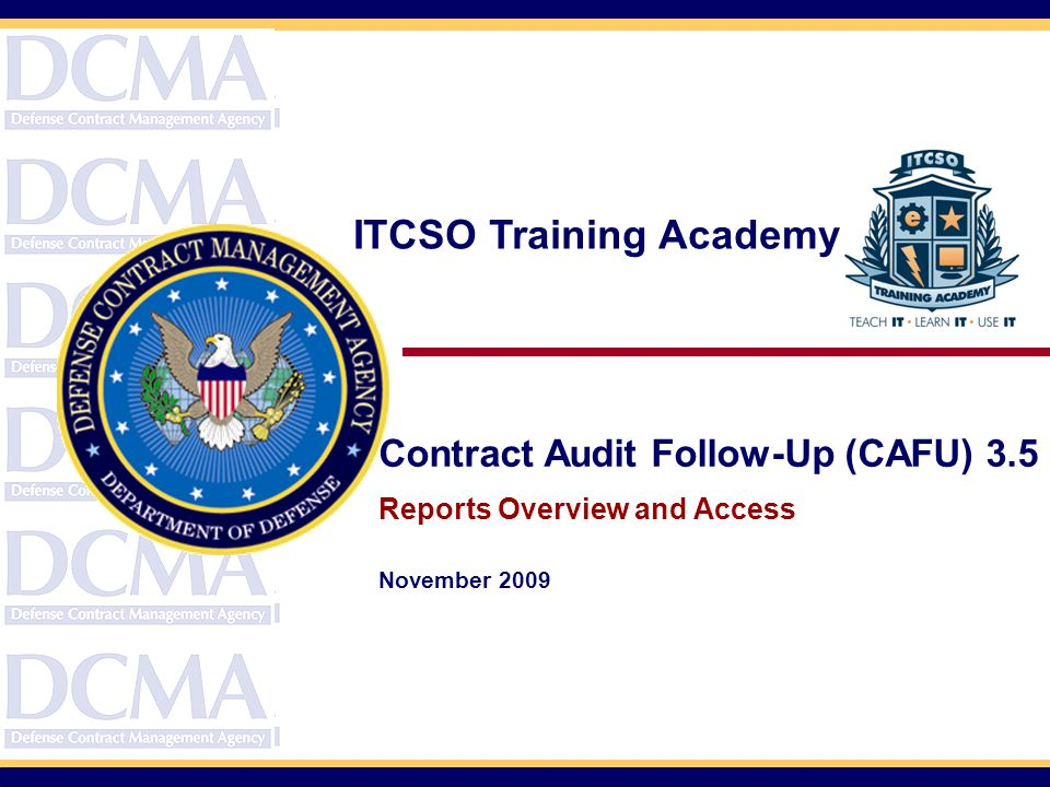 ITCSO Training Academy