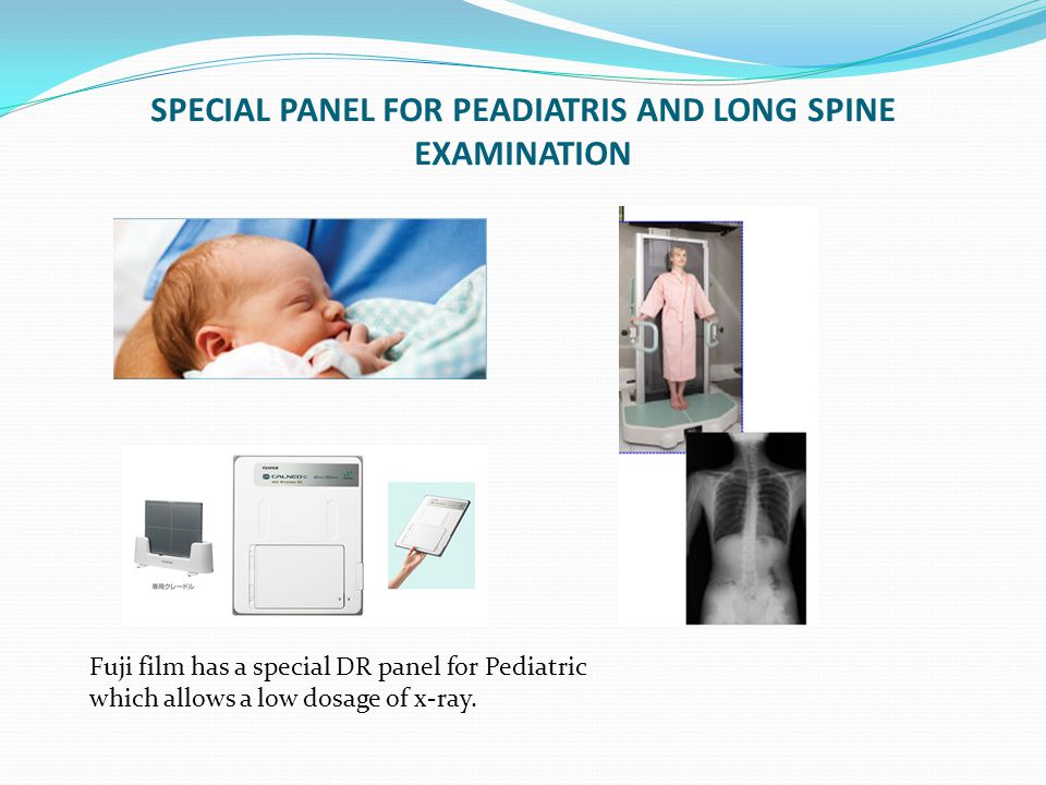 SPECIAL PANEL FOR PEADIATRIS AND LONG SPINE EXAMINATION