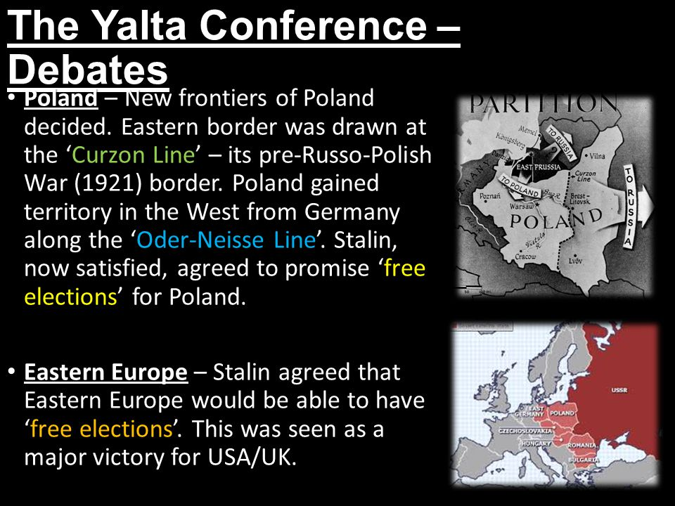 The Yalta Conference – Debates