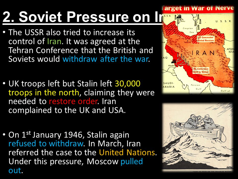 2. Soviet Pressure on Iran