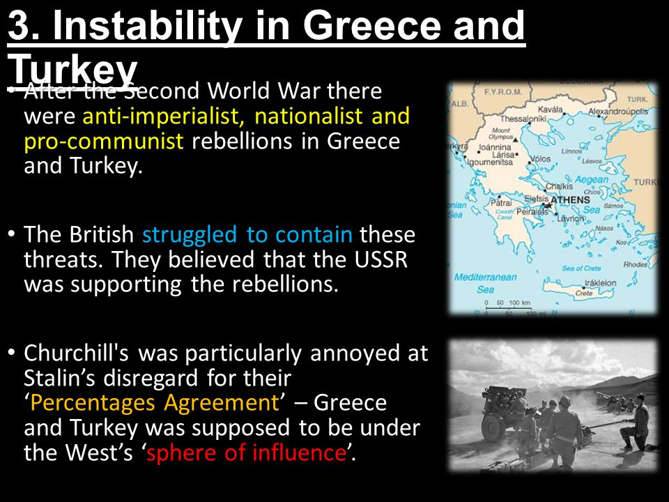 3. Instability in Greece and Turkey