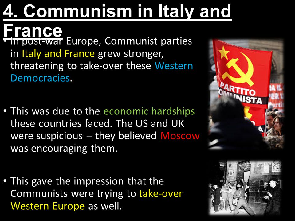 4. Communism in Italy and France