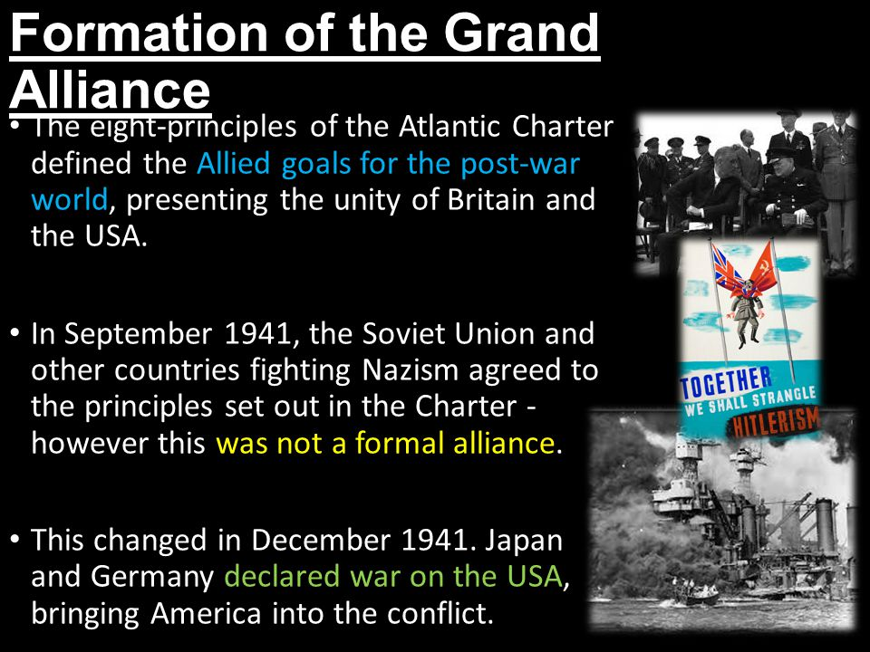 Formation of the Grand Alliance