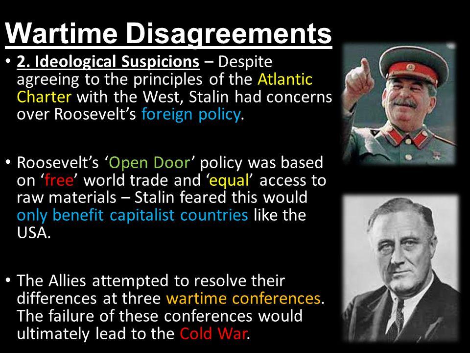 Wartime Disagreements