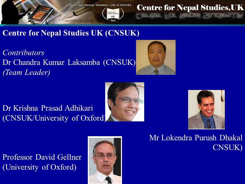 Centre for Nepal Studies UK (CNSUK)