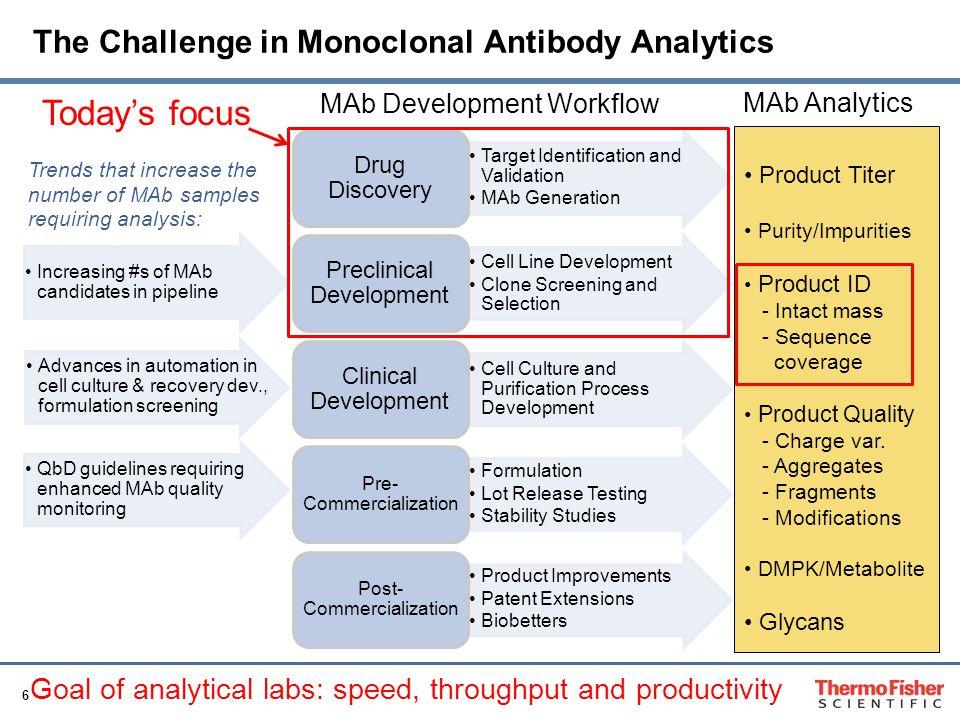 The Challenge in Monoclonal Antibody Analytics