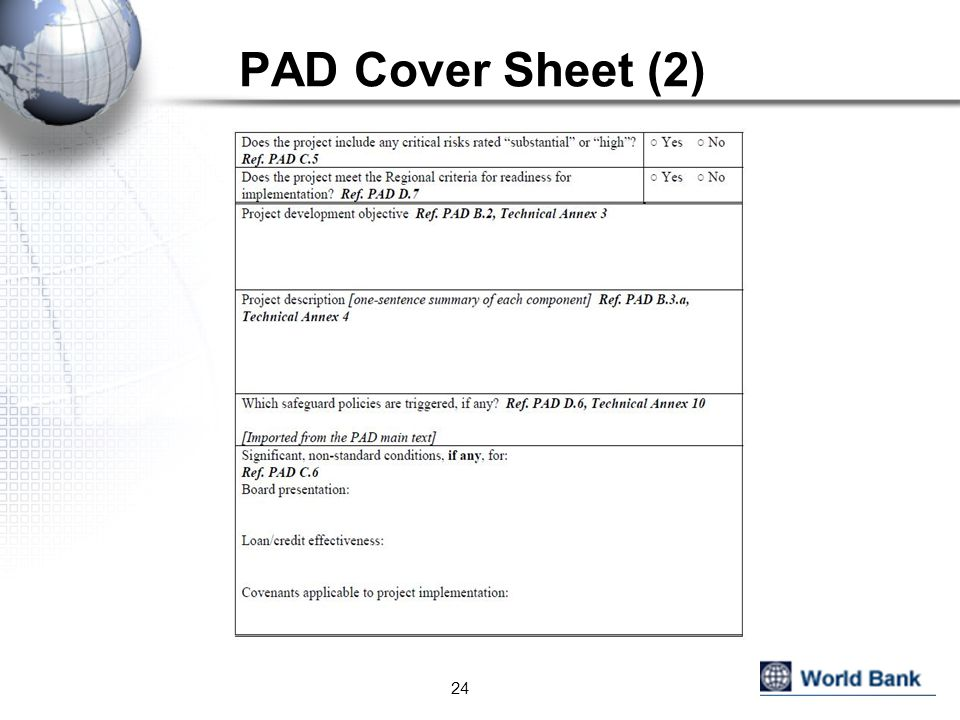 PAD Cover Sheet (2)
