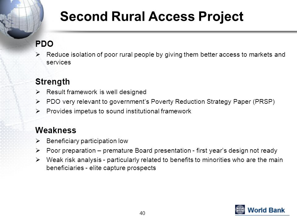 Second Rural Access Project