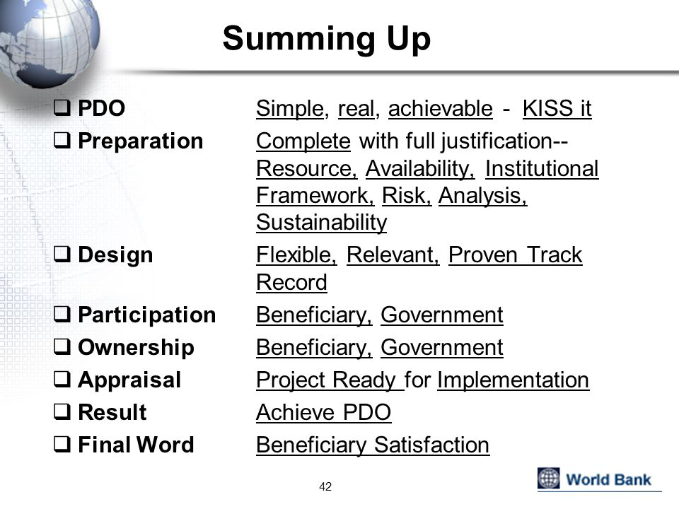Summing Up PDO Simple, real, achievable - KISS it