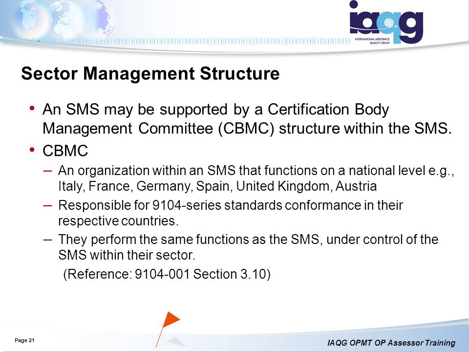 Sector Management Structure