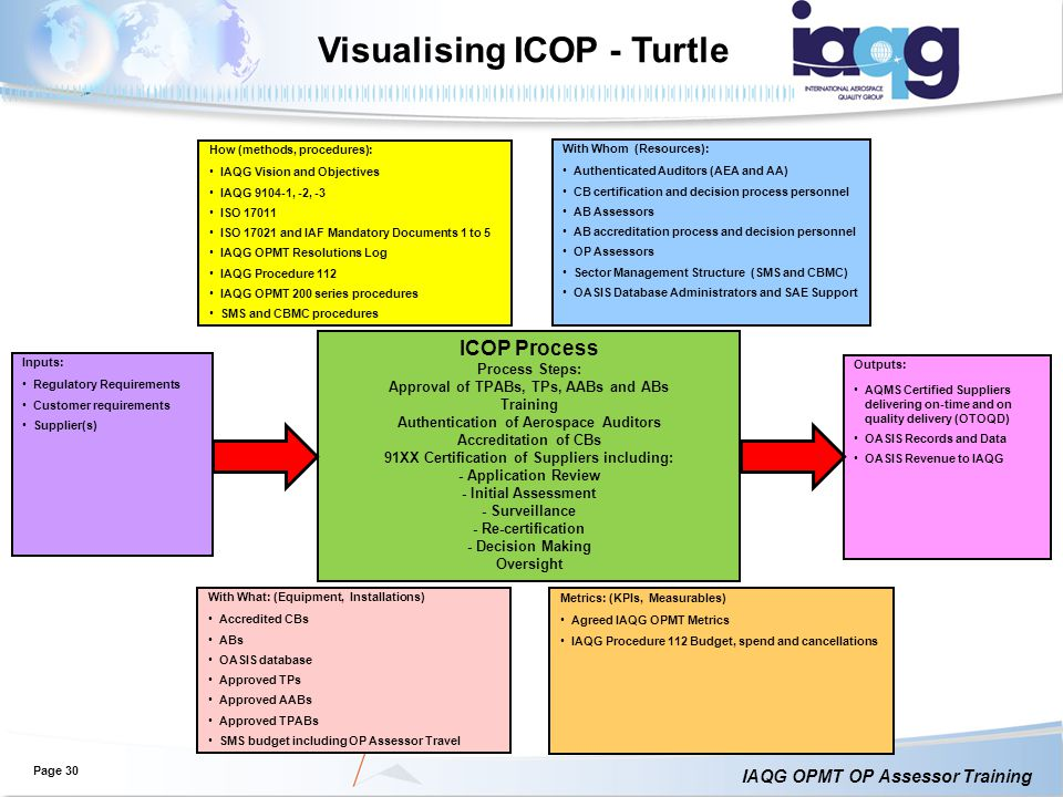 Visualising ICOP - Turtle