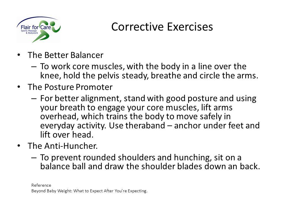 Corrective Exercises The Better Balancer