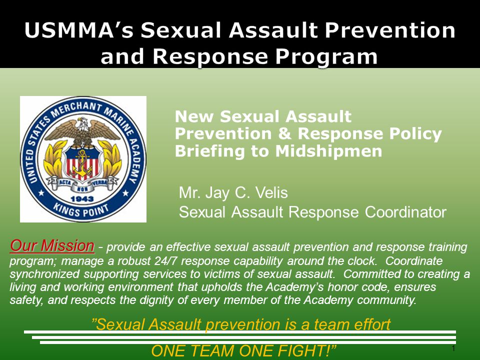 USMMA's Sexual Assault Prevention and Response Program