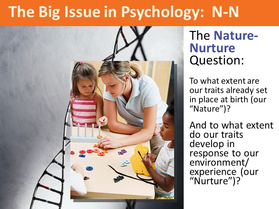 The Big Issue in Psychology: N-N