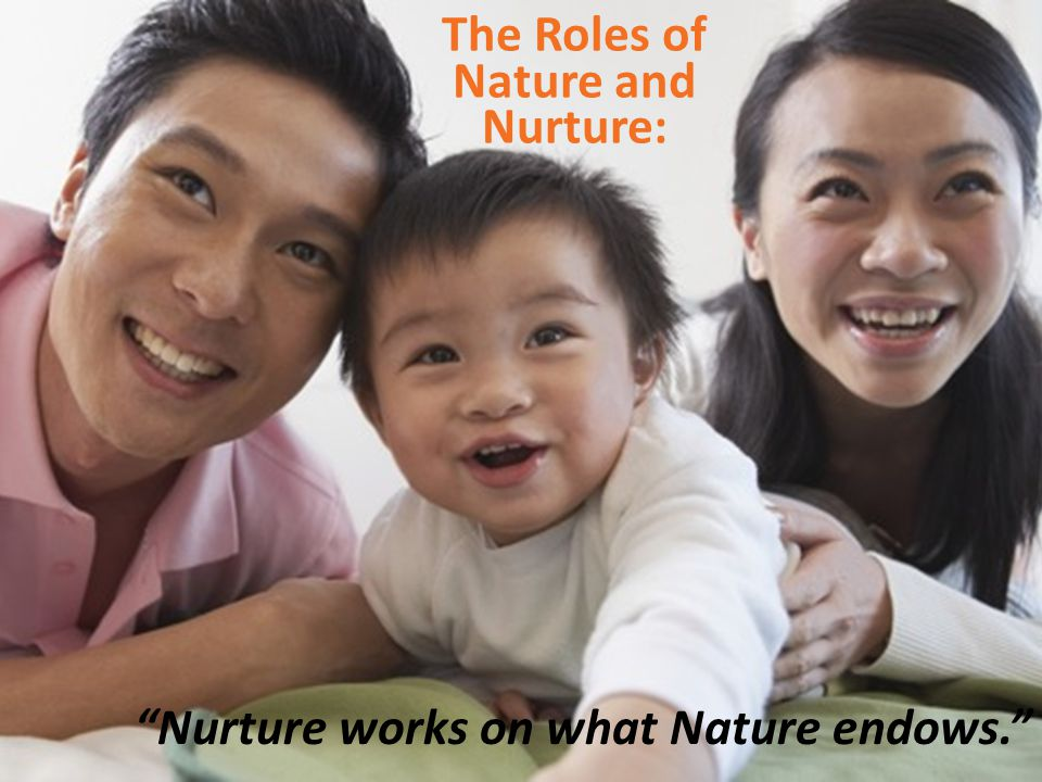 The Roles of Nature and Nurture: