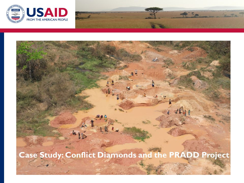 Case Study: Conflict Diamonds and the PRADD Project