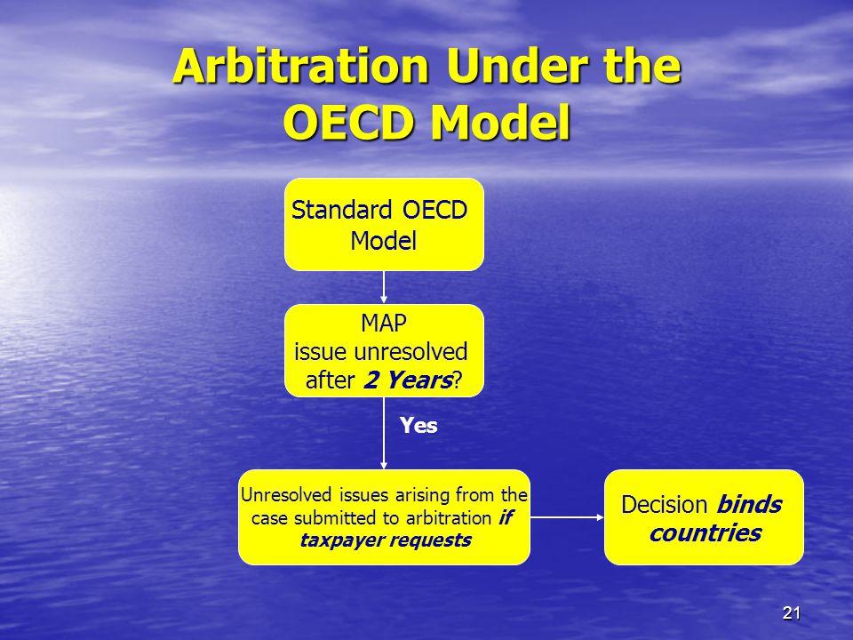 Arbitration Under the OECD Model
