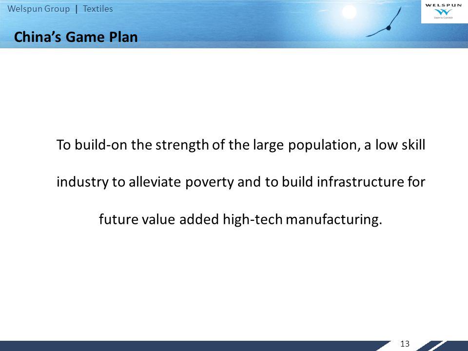 China's Game Plan