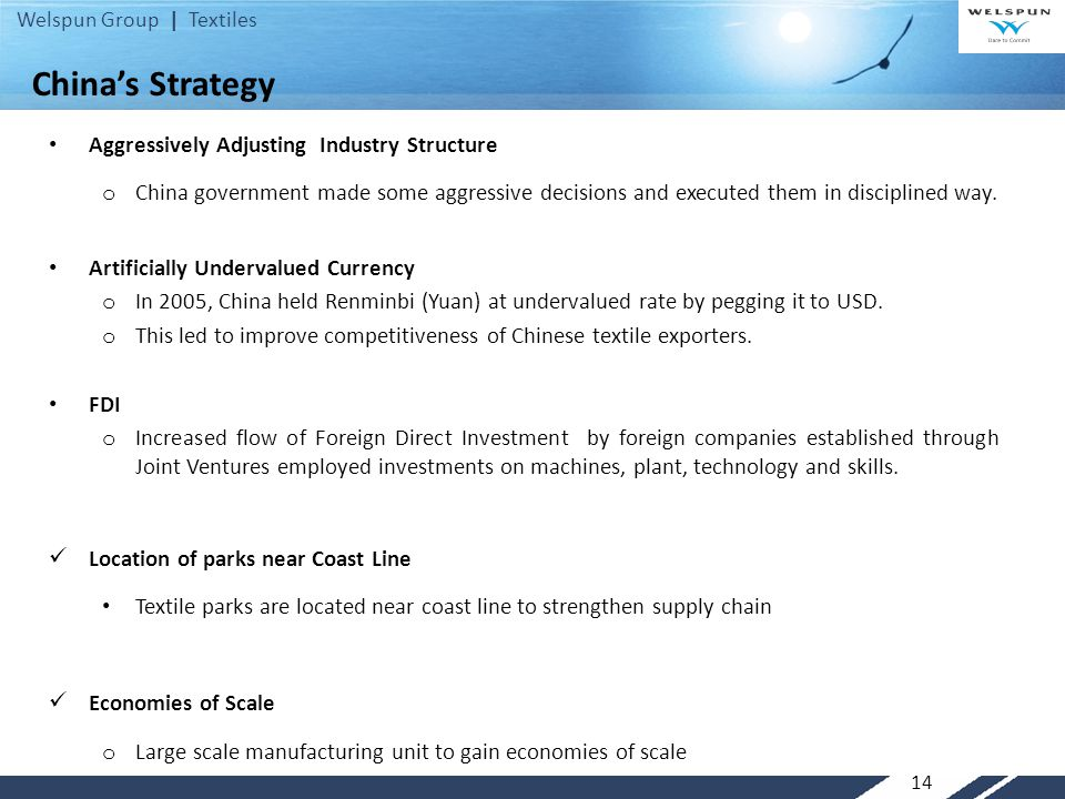 China's Strategy Aggressively Adjusting Industry Structure