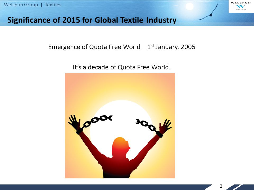 Significance of 2015 for Global Textile Industry