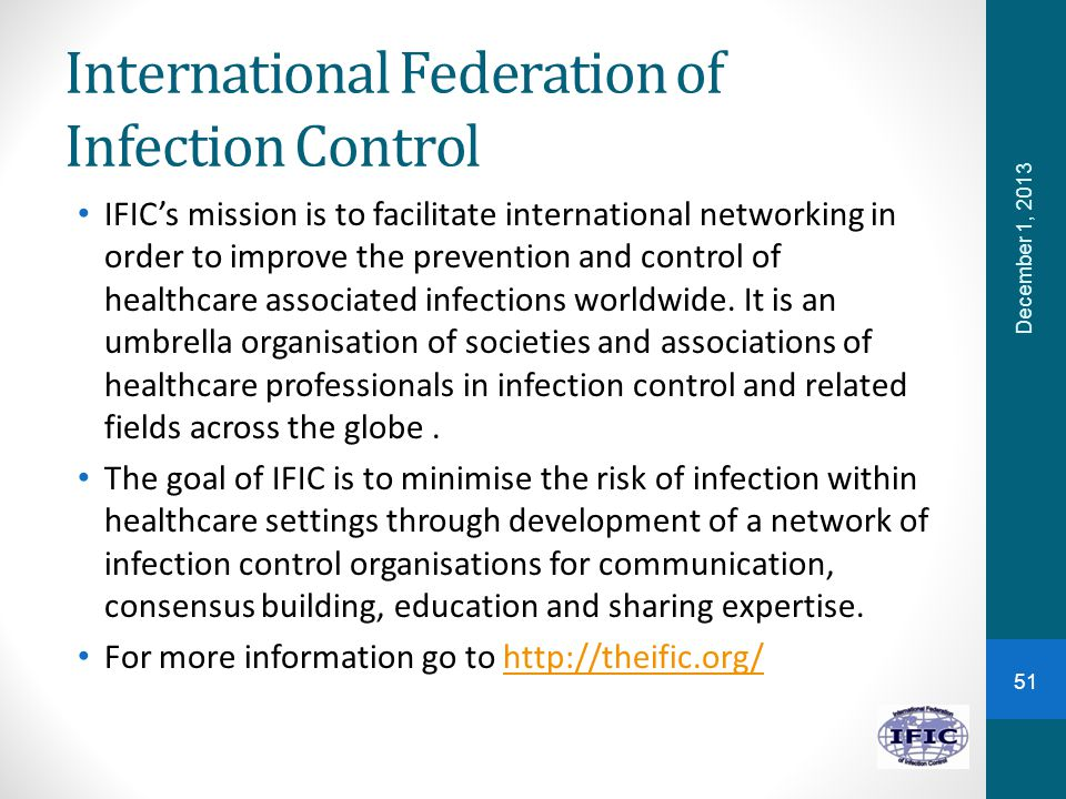International Federation of Infection Control