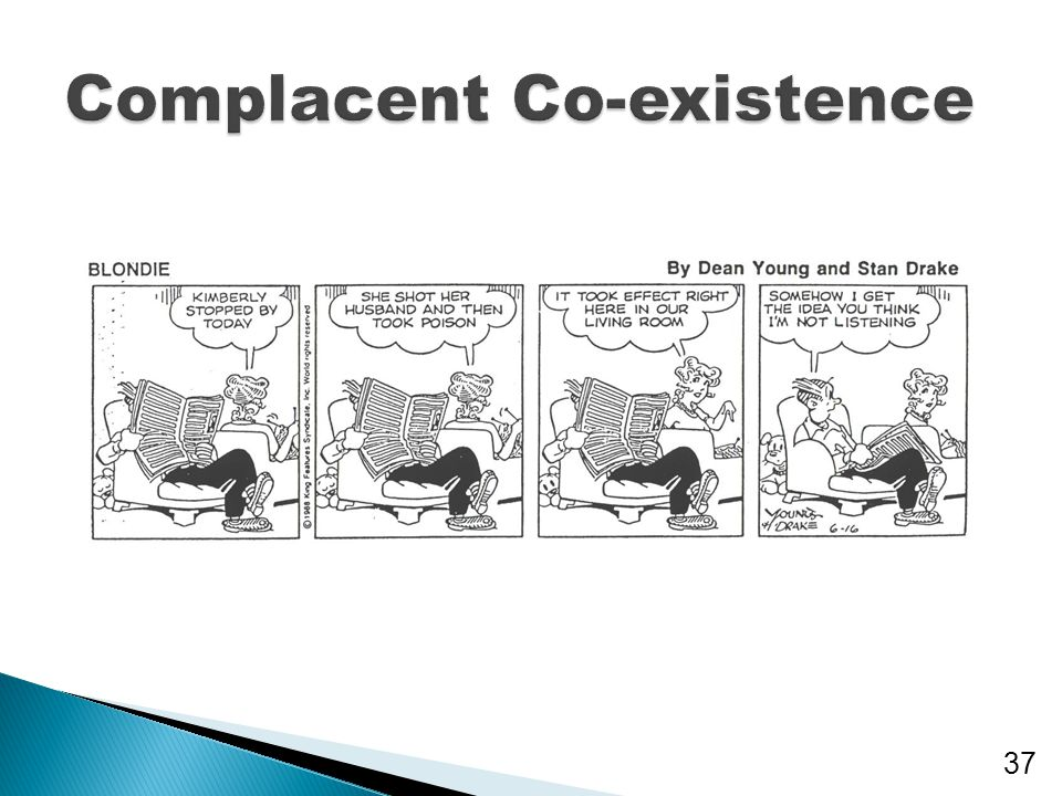 Complacent Co-existence