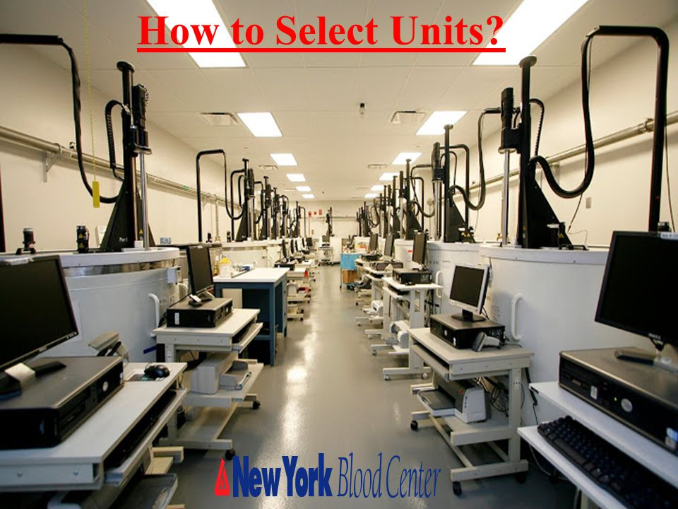 How to Select Units