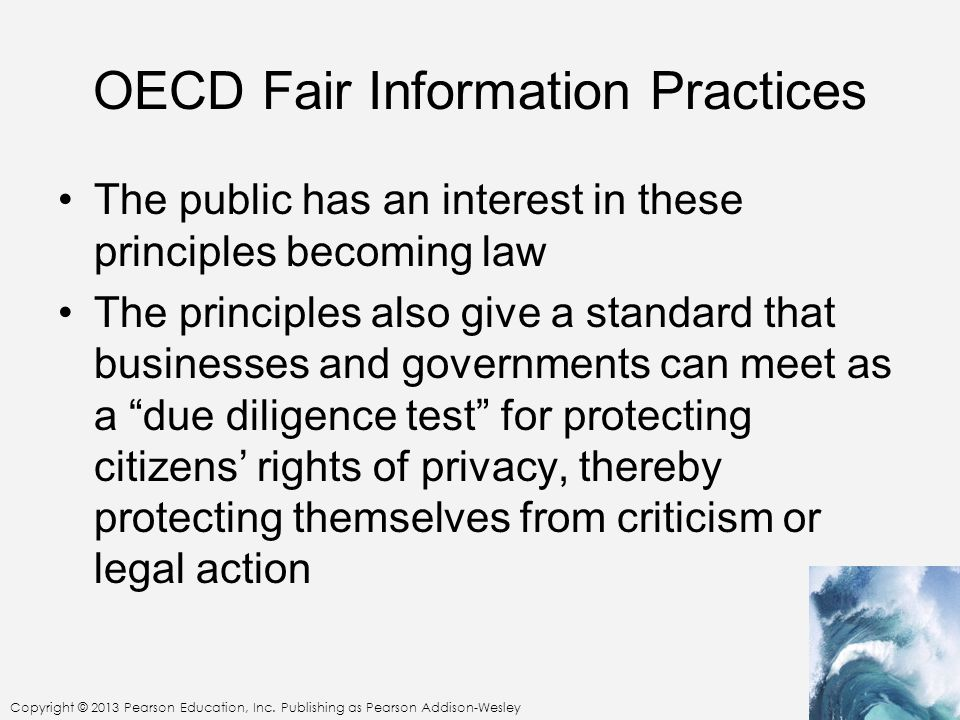 OECD Fair Information Practices