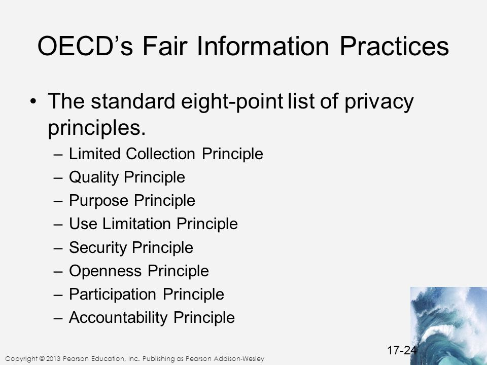 OECD's Fair Information Practices