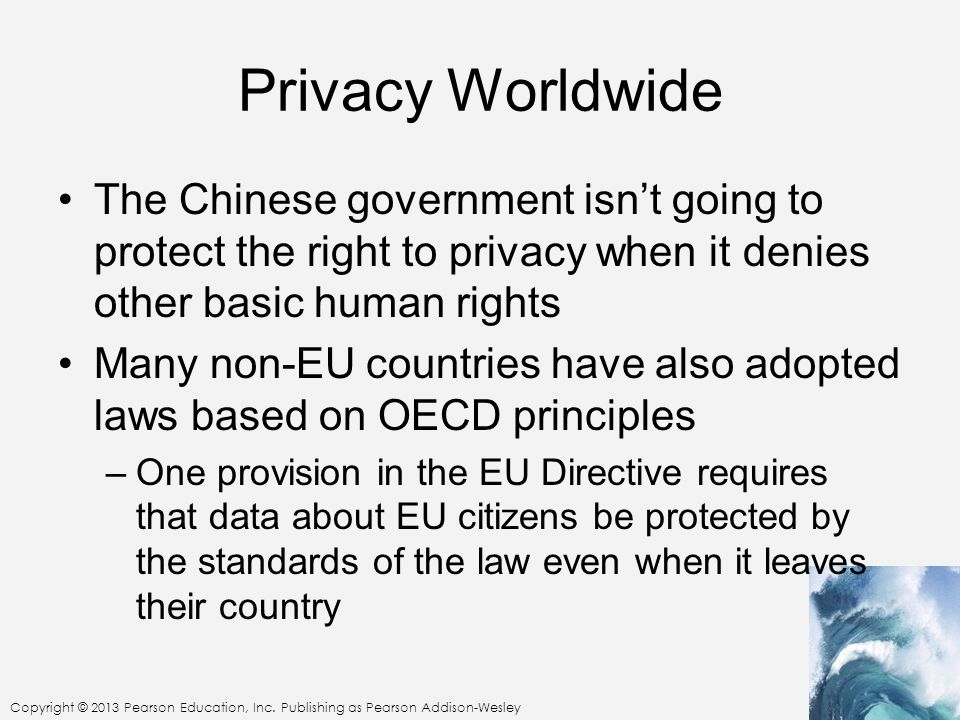 Privacy Worldwide The Chinese government isn't going to protect the right to privacy when it denies other basic human rights.