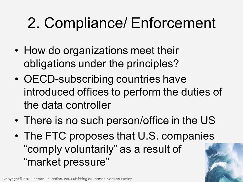 2. Compliance/ Enforcement