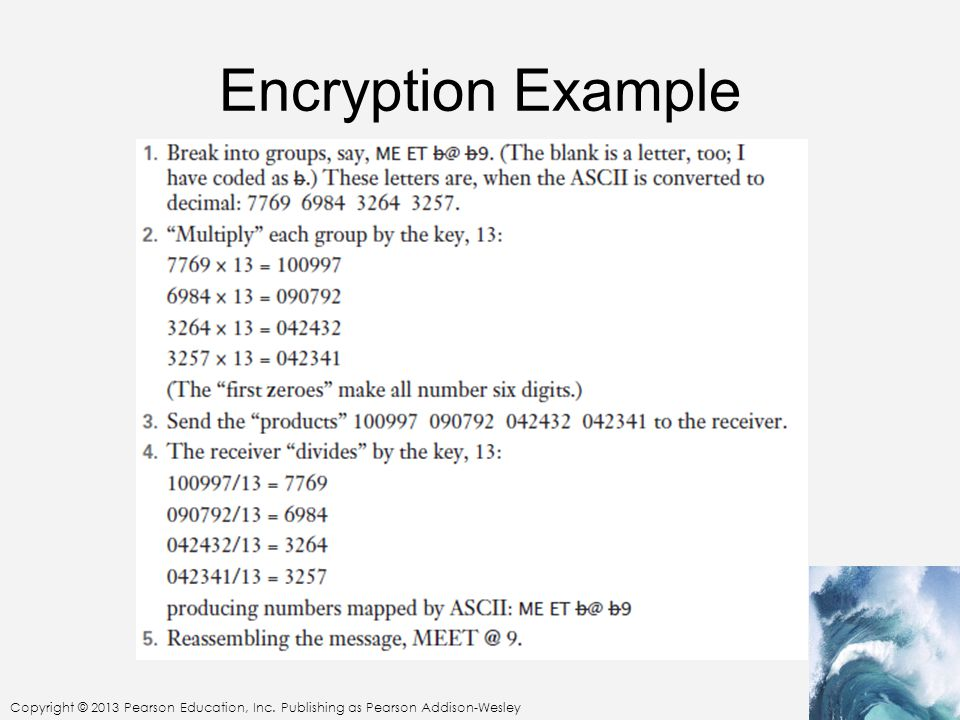 Encryption Example