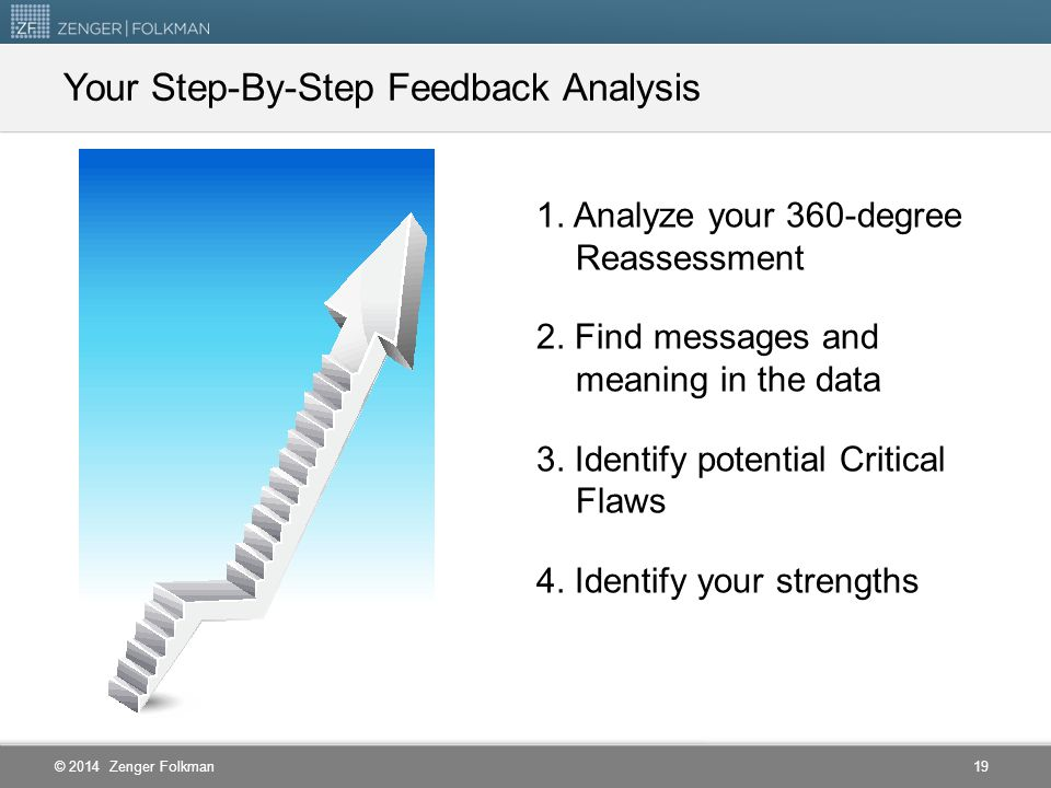 Your Step-By-Step Feedback Analysis