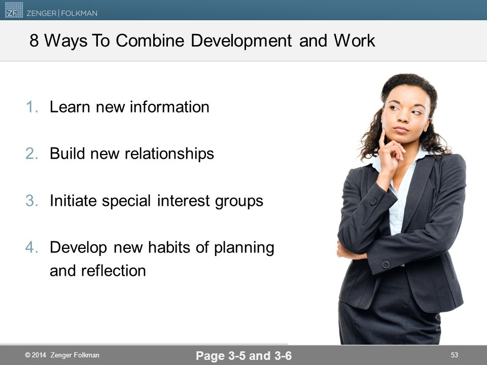 8 Ways To Combine Development and Work