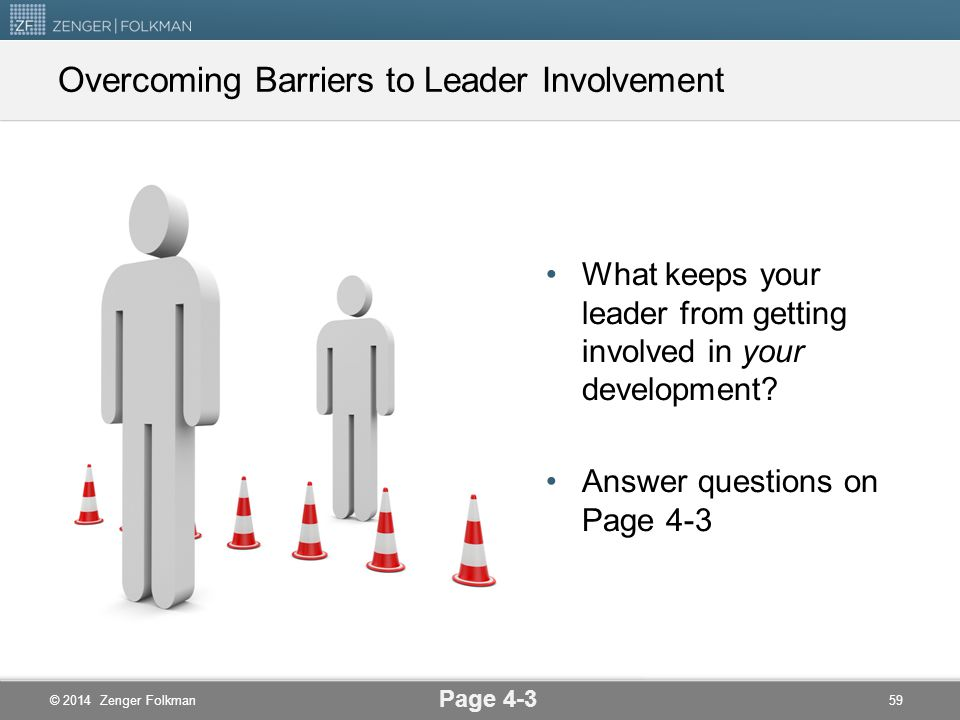 Overcoming Barriers to Leader Involvement
