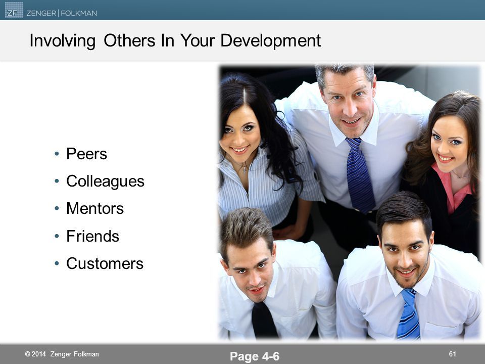 Involving Others In Your Development