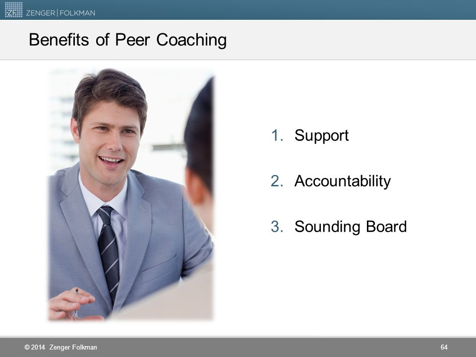 Benefits of Peer Coaching